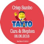 Tayto Crisp Sandwich Sticker 60mm